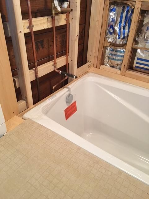 Kohler K 1490 X 47 Almond Greek Collection 48 Drop In Soaking Bath Tub Drain Not Included Bathroom Addition Restroom Design Shower Tub