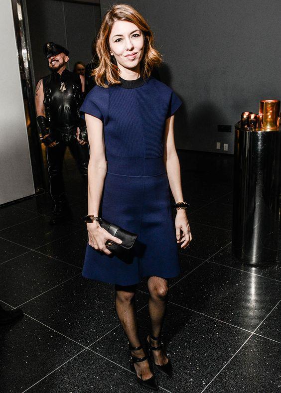 Sofia Coppola in Louis Vuitton - Celebrating Louis Vuitton's Monogram. (November 2014)