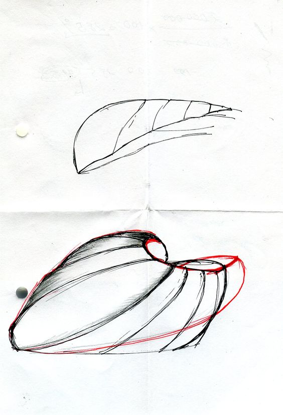 Personal sketch on Zaha Hadid's design morphology #design #sketch  #asketchaday #ZahaHadid #spatial #architecture #nurbs #curves #organic |  Pinterest ...