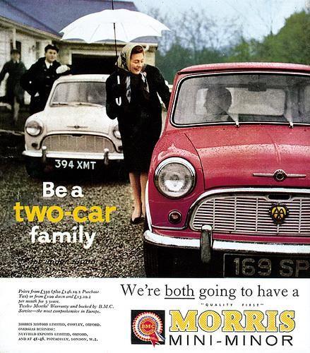 Morris Mini Minor Advert #Mini #MorrisMini