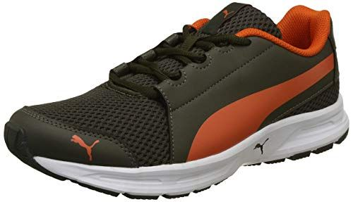 Puma Men S Forest Night Firecracker Running Shoes 10 Uk India