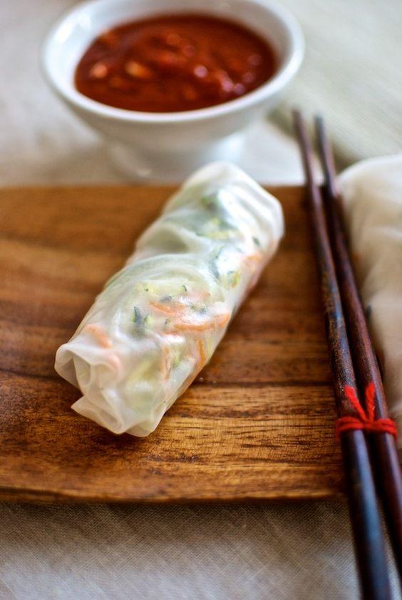 Receta de rollitos de pollo al estilo vietnamita