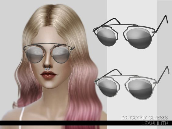 Leah Lillith's LeahLilith Dragonfly Glasses
