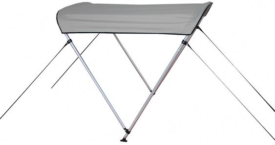 Affordable 2-bow sun shade canopies and bimini tops for Inflatable KaBoat.