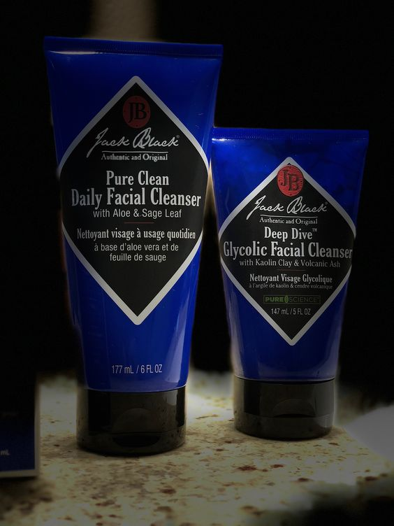 Loving the Jack Black men's grooming line