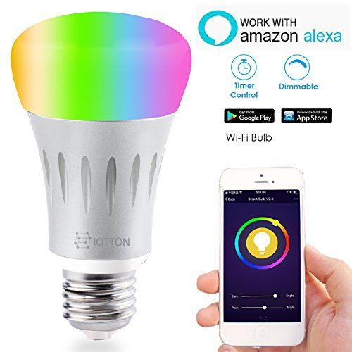 Smart Led Light Bulb Wi Fi