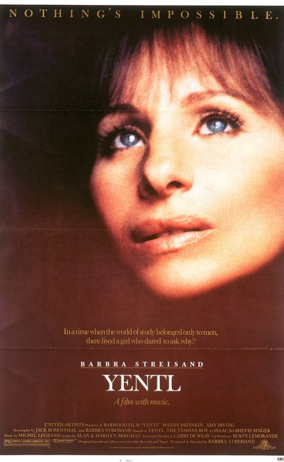 yentl speech Yentl told the dealers she wanted to sell the house and go to live in kallish with  an aunt the neighborhood women tried to talk her out of it, and the marriage.