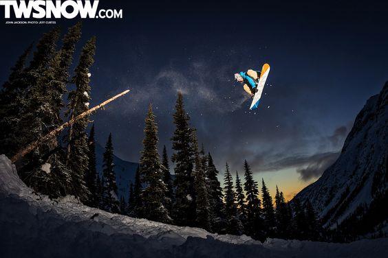 John Jackson. PHOTO: Jeff Curtes | Wallpaper Wednesdays: The Pow is Back! | TransWorld SNOWboarding