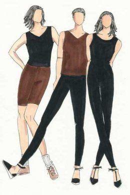 Christine Johnson BaseWear One, Leggings, Top and Bodysuit