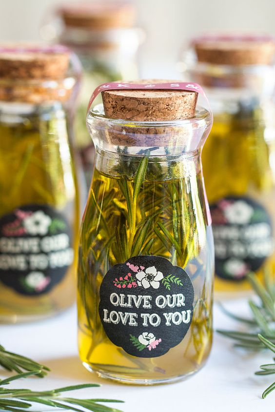DIY Personalized Wedding Favors