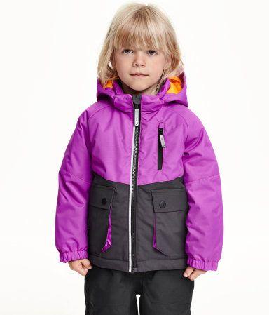 Wattierte Winterjacke   Lila   Kinder   H&M DE