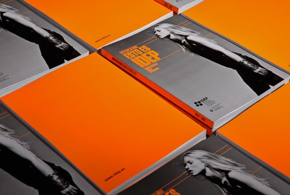 Orange & Grey