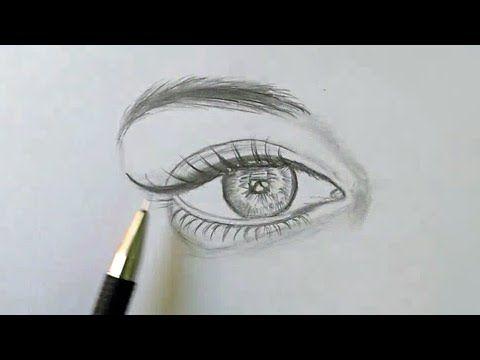 تعلم رسم العين بالرصاص بخطوات سهله Youtube Art Drawings Simple Pencil Art Drawings Art Drawings