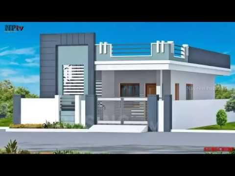 Small House Front Elevation Designs With 50 Different Home Elevation Designs Building Desi Small House Elevation Single Floor House Design House Front Design