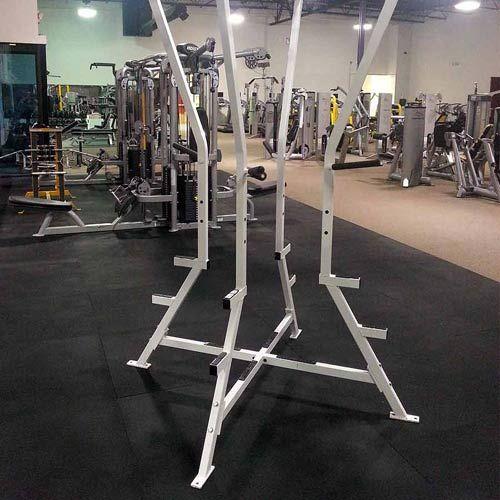 Gym Rubber Floor Mat 4x6 Ft X 1 2 Inch Black Gym Flooring Rubber Rubber Flooring Weight Room Flooring
