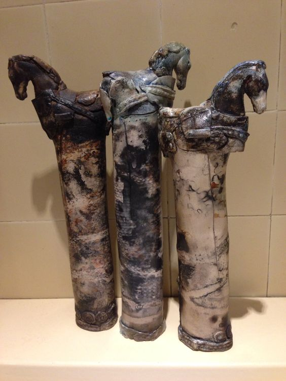 3 Tall Horses