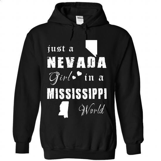 Nevada-MS - #oversized sweatshirt #sweater fashion. I WANT THIS => https://www.sunfrog.com/States/Nevada-MS-5454-Black-Hoodie.html?68278