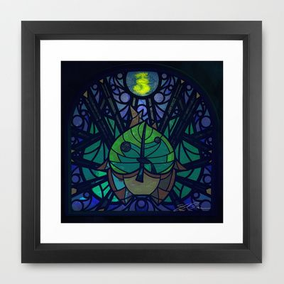 Sage of Wind Framed Art Print by Joshua A. Biron - $35.00