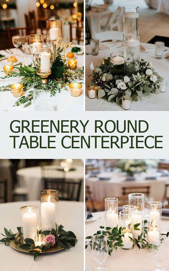 9 Stunning Fall Wedding Centerpiece Ideas For 2019 Greenery