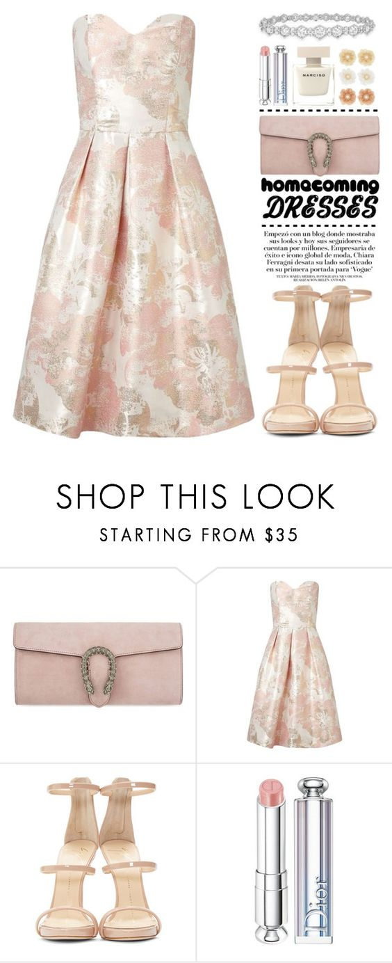 """""""Champagne"""" by igedesubawa ❤ liked on Polyvore featuring Gucci, Miss Selfridge, Epoque, Giuseppe Zanotti, Chiara Ferragni, Christian Dior, Monsoon, contest, contestentry and polyvorecontest"""