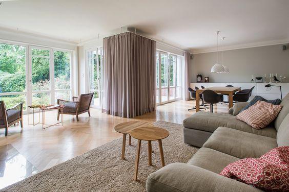 Gärtner Internationale Möbel #Wohnzimmer #Kamin #Feuer #