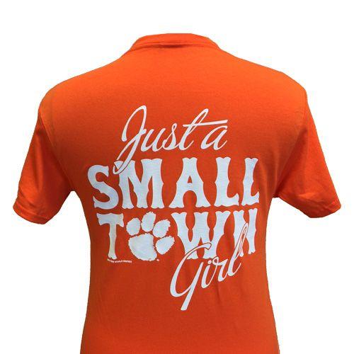 Small Town Girl Paw Orange