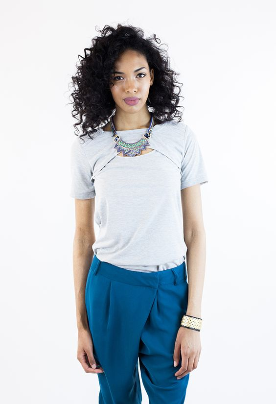 Shanece Cut-Out Tee