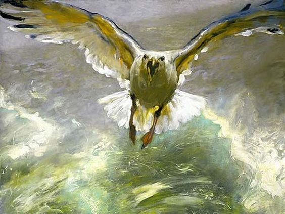 Jamie Wyeth  (b. 1946)  Wake  James Browning Wyeth is the son of Andrew Wyeth and grandson of N.C. Wyeth.