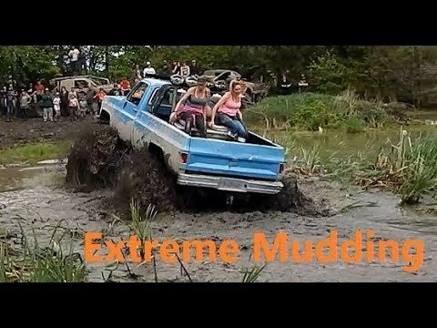 Extreme 4x4 Truck Mudding At Walton Raceway Bounty Mud Hole
