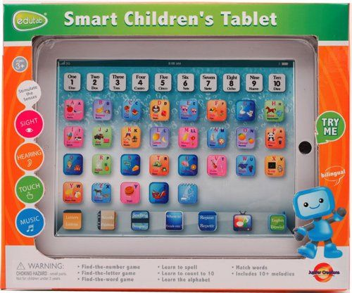 Edutab: Smart Children`s Tablet (large 10in LCD) for only $4.76 You save: $25.23 (84%)