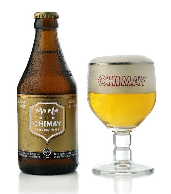 Bia Chimay Vàng 4,8% - Chai 330ml