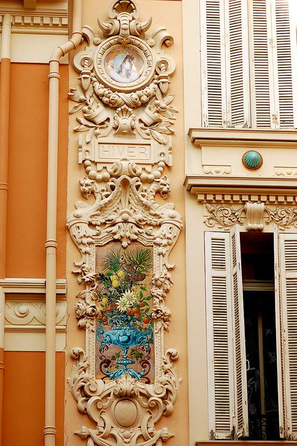 Beautiful Building Details - Monte Carlo, Monaco
