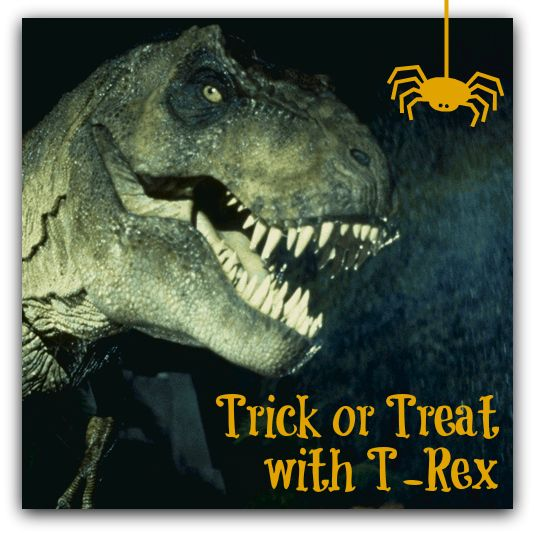 Trick or Treat with T-Rex at the Catawba Science Center