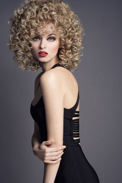 Strange Big Perm Female Hairpamper Adventures In Curls Pinterest Hairstyle Inspiration Daily Dogsangcom
