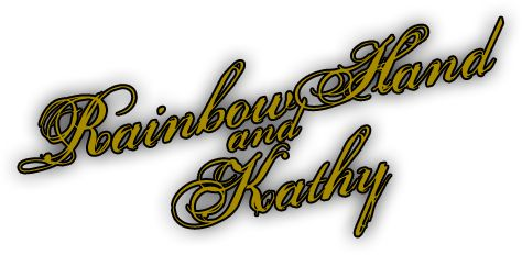 Rainbow Hand and Kathy