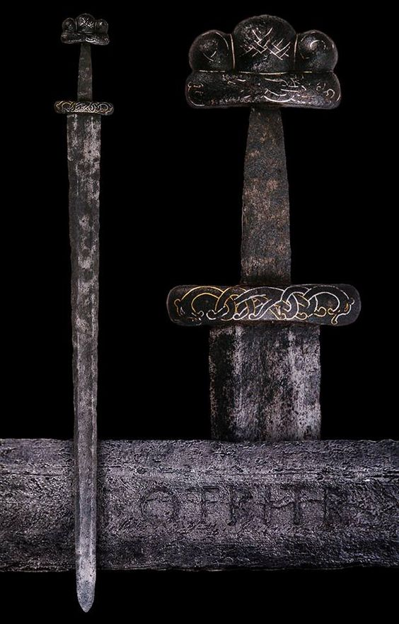 Viking Sword, Danish, 9th or 10th century.