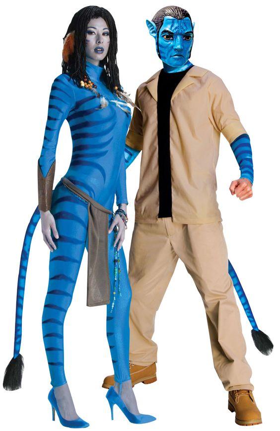Déguisement couple Neytiri et Jake Sully Avatar™ : Deguise-toi, achat de Déguisements adultes