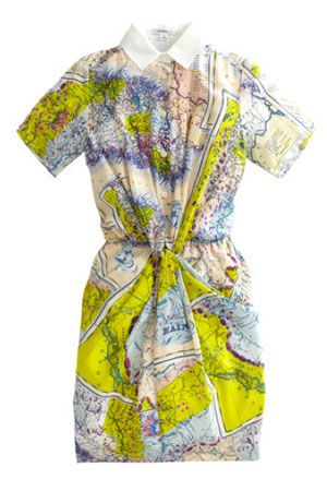We're Obsessed: Carven Puts a Map on It