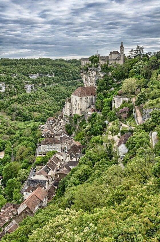 les grottes de Rocamadour  France