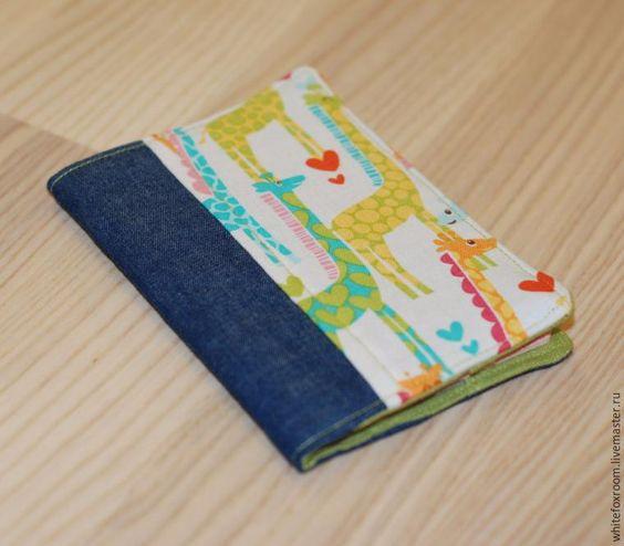 Мастер-класс: джинсовая обложка на паспорт своими руками - Ярмарка Мастеров…