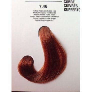 kit de coloration permanente cheveux blond moyen cuivr rouge - Coloration Rouge Permanente