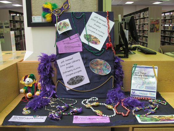 Love Your Library Display!