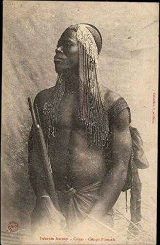 Tribesman, French Congo 1905