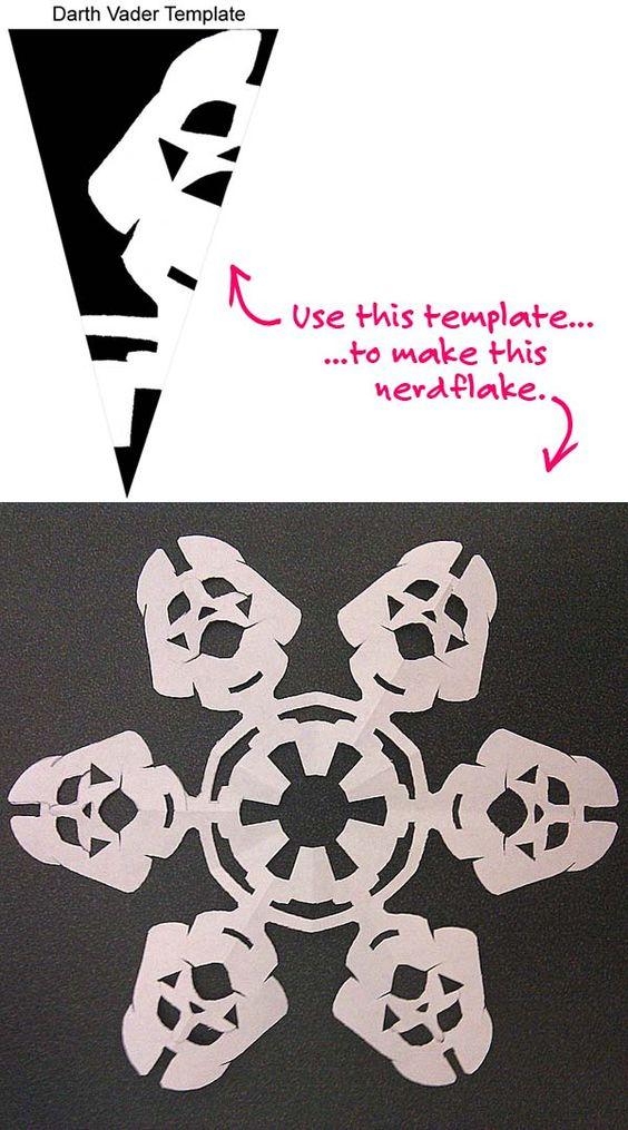 Darth Snowflake - MUST. MAKE. THIS!!!