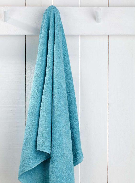 Le drap de bain couleur valeur 90x165 cm - Serviettes de bain   Simons