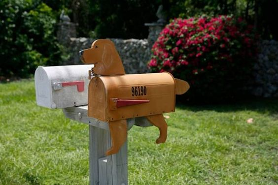 unusual postbox designs and recycled craft ideas