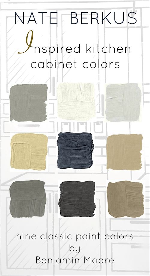 The Surprising Thing That Nate Berkus Said About Design Trends - laurel home | and nine fabulous Benjamin Moore colors for custom cabinets. It's not published anywhere else.