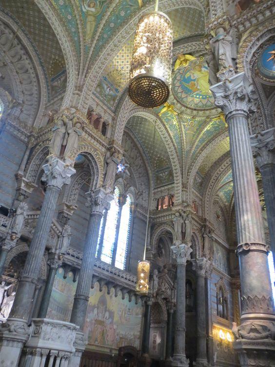 Basilique Notre-Dame de Fourvière in Lyon