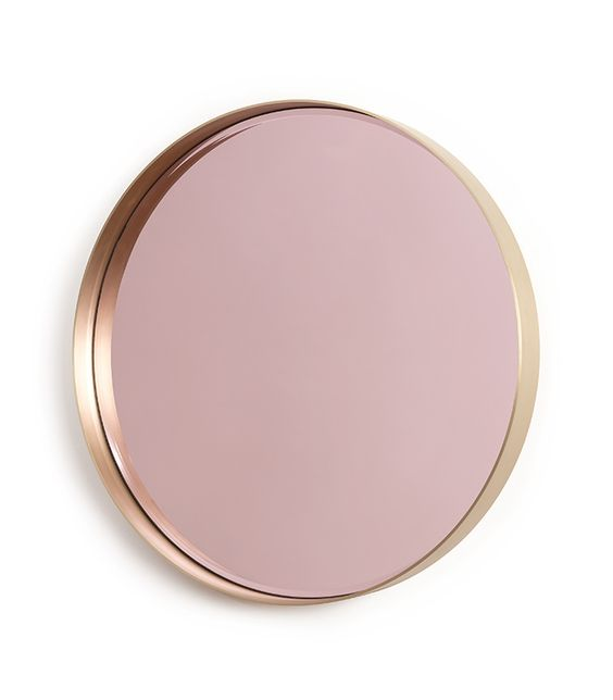 les miroirs copper design and galleries On miroir rose gold