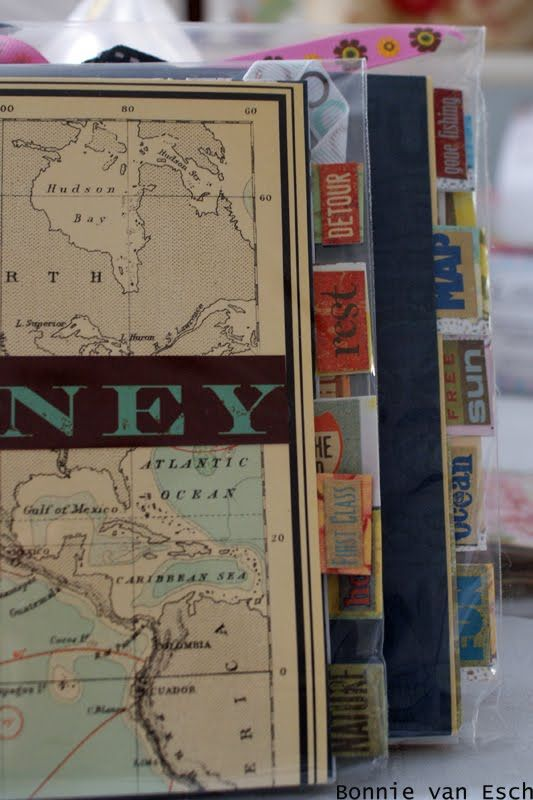 travel journals, light weight and small by @Bonnies Designs out of South Africa